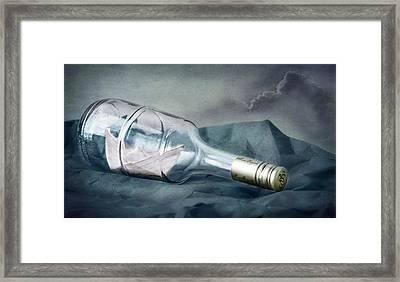 Bon Voyage Framed Print by Maggie Terlecki