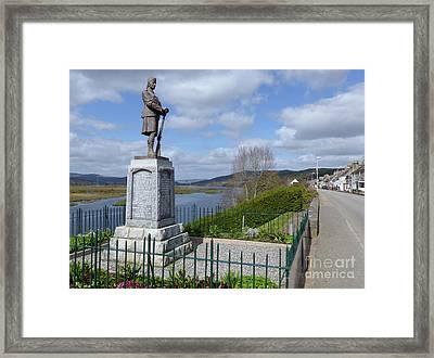 Bonar Bridge And The Kyle Of Sutherland Framed Print by Phil Banks
