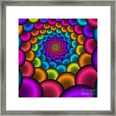 Bonbon Funnel 221 Framed Print