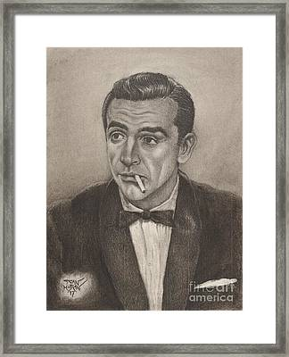 Bond From Dr. No Framed Print
