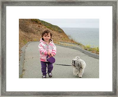 Framed Print featuring the photograph Bond by Nick David