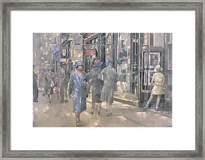 Bond Street Framed Print by Peter Miller
