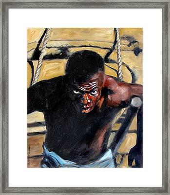 Bondage Framed Print by John Lautermilch