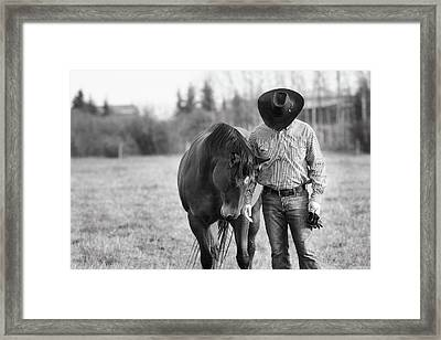 Framed Print featuring the photograph Bonded by Debby Herold