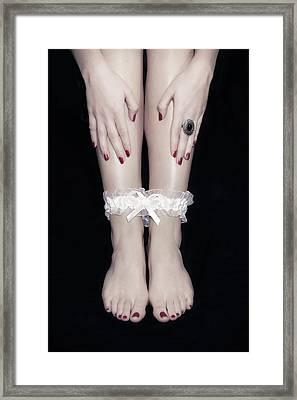 Bonded Legs Framed Print