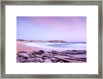 Bondi Basin Framed Print by Az Jackson