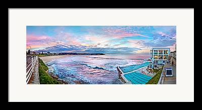 Bondi Beach Framed Prints