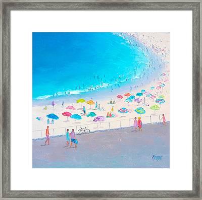 Bondi Beach In January Framed Print