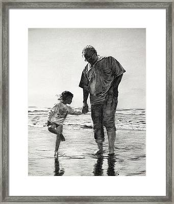 Bonding Framed Print by Patrick Entenmann