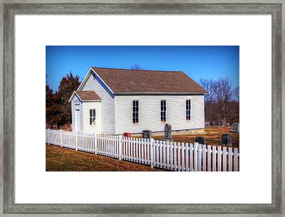 Bonds Chapel 1883 Framed Print