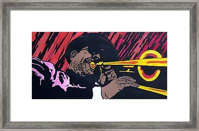 Bone Daddy Framed Print by Shane Hurd