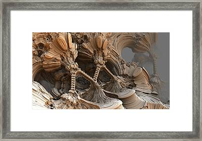 Bone Mountain Framed Print by Hal Tenny
