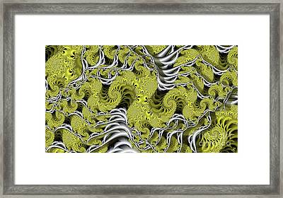Bone Yard Framed Print by Ron Bissett