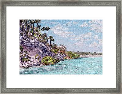 Bonefish Creek Framed Print
