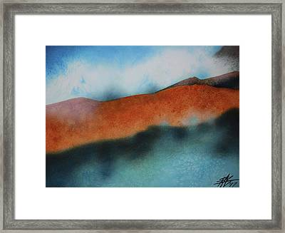 Bones And Steam Framed Print by Robin Street-Morris