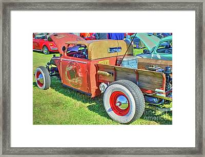 Boneyard Bombs Framed Print