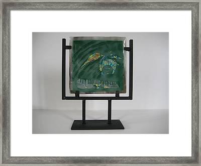 Boneyard Framed Print by Mark Lubich
