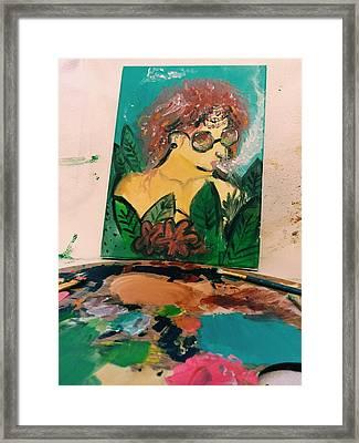 Bongos Framed Print by Sneha Ramesh
