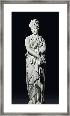 Bonne Renommee Framed Print by Prosper Charles Adrien d'Epinay