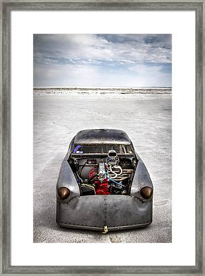 Bonneville Speed Week Images Framed Print by Holly Martin