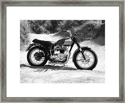 Bonneville Tt Special 67 Framed Print
