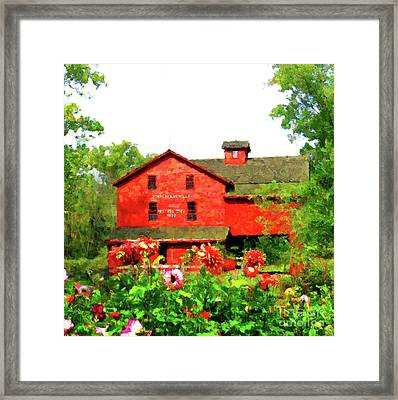 Bonneyville Mill Framed Print by Desiree Paquette