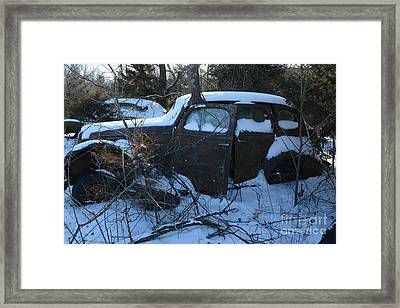 Bonnie And Clyde Framed Print by Audie T Photography