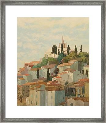 Bonnieux Vaucluse Framed Print