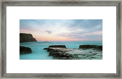 Framed Print featuring the photograph Bonny Doon by Catherine Lau