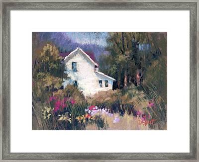 Bonny Garden Framed Print by Donna Shortt