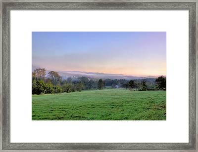 Bonnyvale Field Framed Print