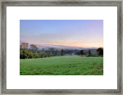 Bonnyvale Field Framed Print by Tom Singleton