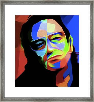 Bono D1 By Nixo Framed Print