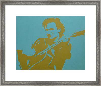 Bono Framed Print by Doran Connell