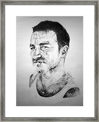 Bono Framed Print by Sean Leonard