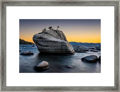 Bonsai Rock Framed Print by Doug Oglesby