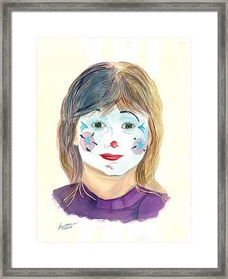 Bonsette - IIi  Inner Child Framed Print by Joel Deutsch