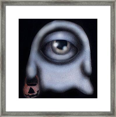 Boo Framed Print by  Abril Andrade Griffith
