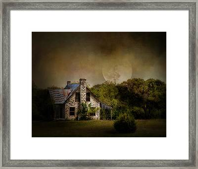 Boo Framed Print by David and Carol Kelly