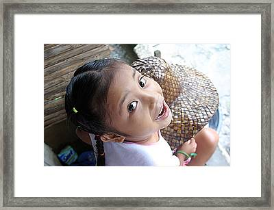 boo Framed Print by Jez C Self