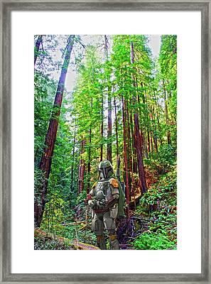 Boba Framed Print