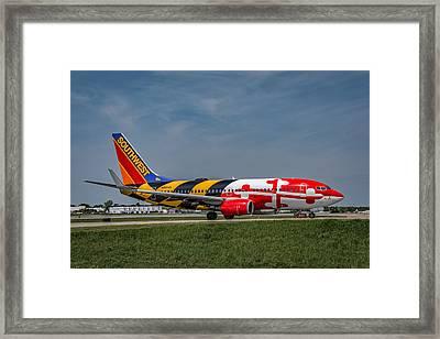 Boeing 737 Maryland Framed Print