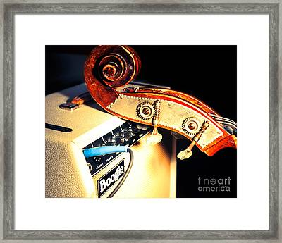 Boogie Street Blues  Framed Print