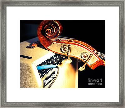 Boogie Street Blues  Framed Print by Steven Digman