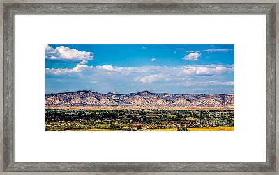 Book Cliffs Framed Print by Jon Burch Photography