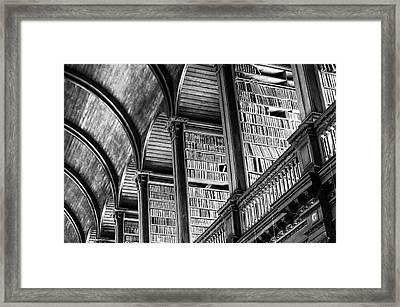 Book Heaven Framed Print