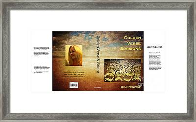 Framed Print featuring the digital art My Book Jacket by Kim Prowse