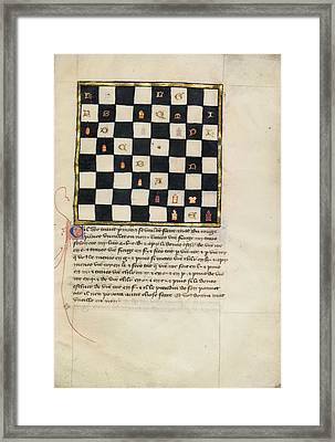 Book Of Chess Problems Framed Print by Celestial Images