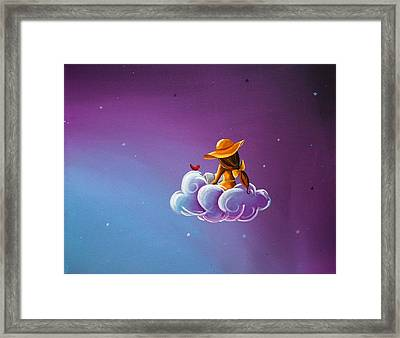 Book Of Dreams Framed Print by Cindy Thornton