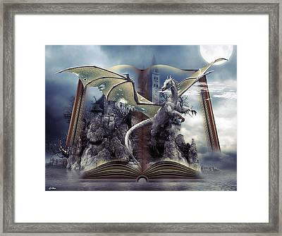 Book Of Fantasies Framed Print by G Berry